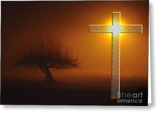 Greeting Card featuring the photograph My Life In God's Hands 3 To 4 Ration by Clayton Bruster