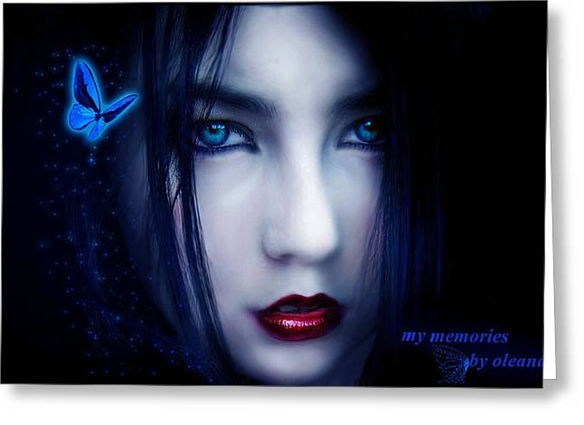 My Memories Greeting Card by Hend