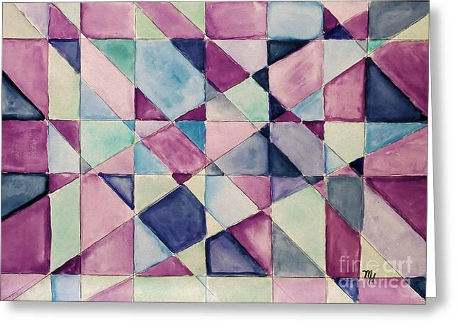 My Quilt Greeting Card by Marsha Heiken