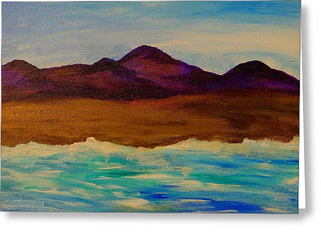 My Seascape Dream Greeting Card by Beth Akerman