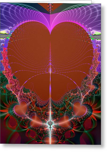 Greeting Card featuring the digital art My Valentine by Ester  Rogers