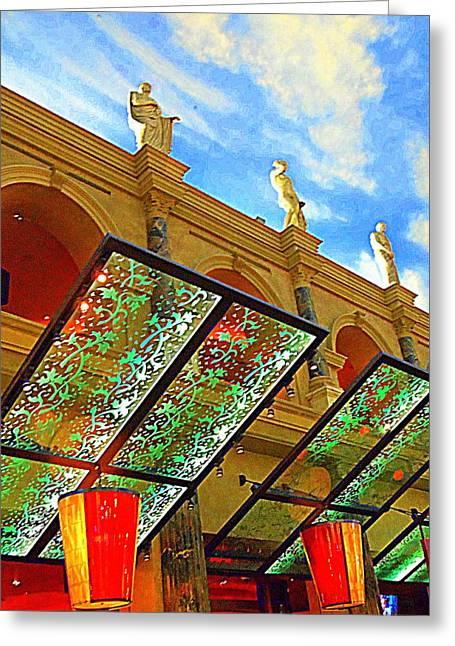 My Vegas Caesars 19 Greeting Card by Randall Weidner