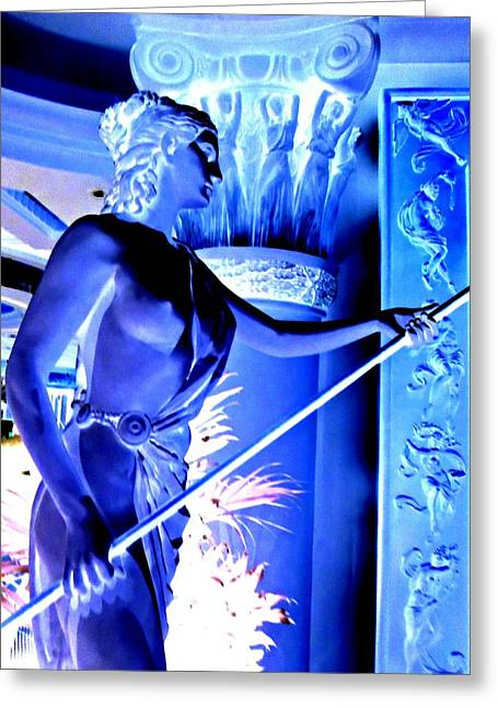My Vegas Caesars 25 Greeting Card by Randall Weidner