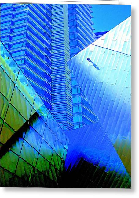 My Vegas City Center 21 Greeting Card by Randall Weidner
