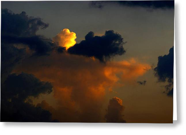 Mystical  Clouds Greeting Card