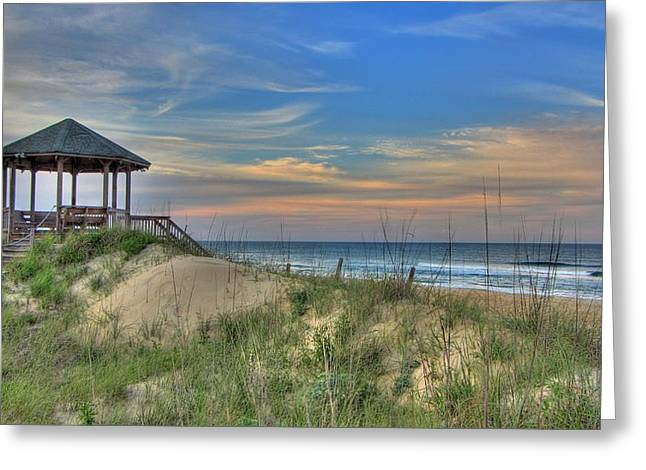 Nags Head Gazebo Greeting Card