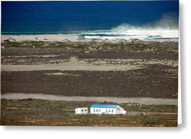 Greeting Card featuring the photograph Namaqualand Farm by Werner Lehmann