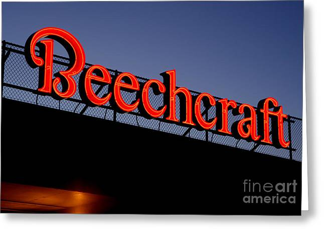 Name Beechcraft Greeting Card by Fred Lassmann