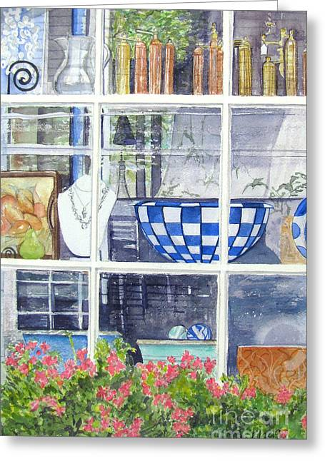 Nantucket Shop-lecherche Midi Greeting Card