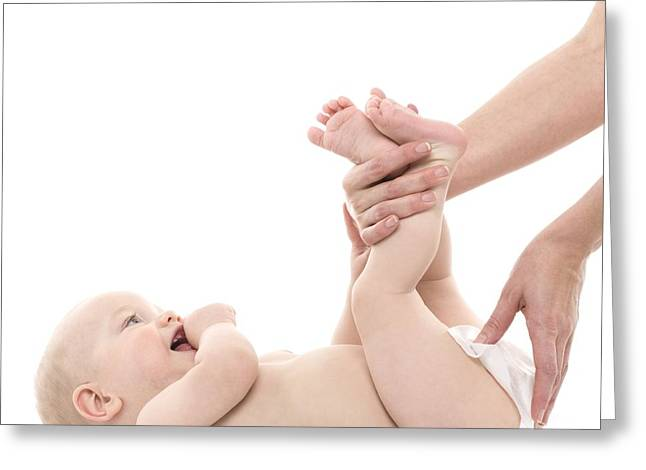 Nappy Changing Greeting Card