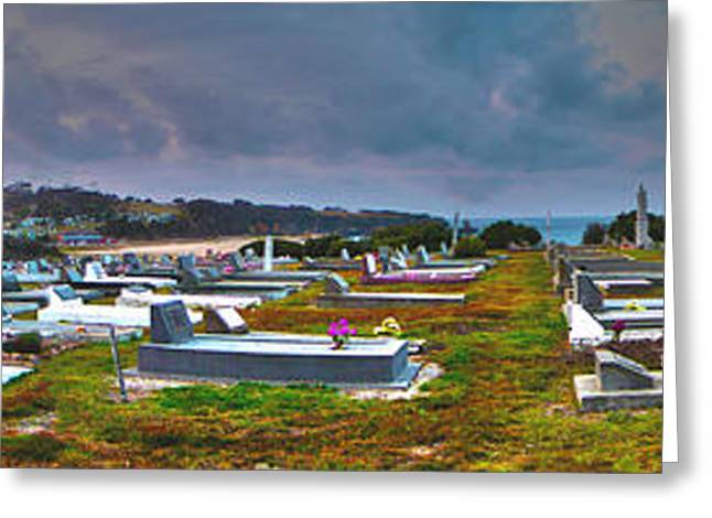Narooma Cemetery Greeting Card by Joanne Kocwin