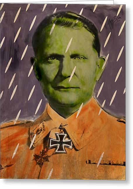 Nasi Goering Greeting Card by Nop Briex