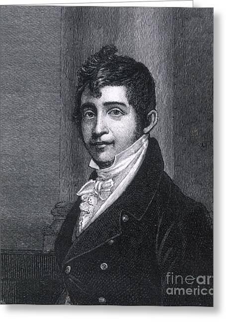 Nathan Appleton (1779-1861) Greeting Card by Granger