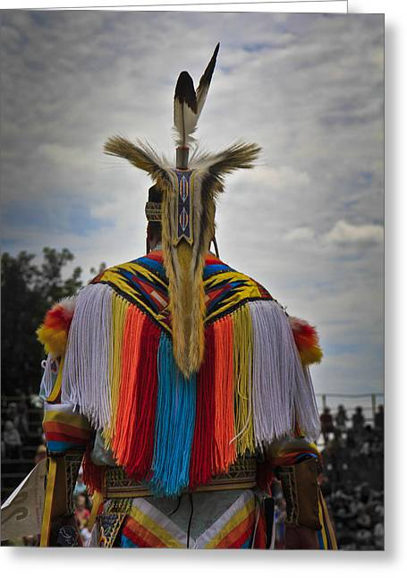 Greeting Card featuring the photograph Native Canadian by Nick Mares
