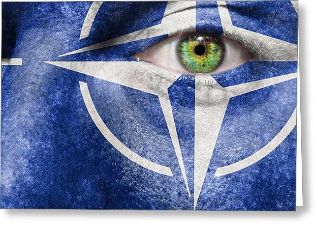 Nato Greeting Card by Semmick Photo