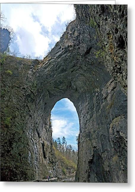 Natural Bridge Virginia2  Greeting Card