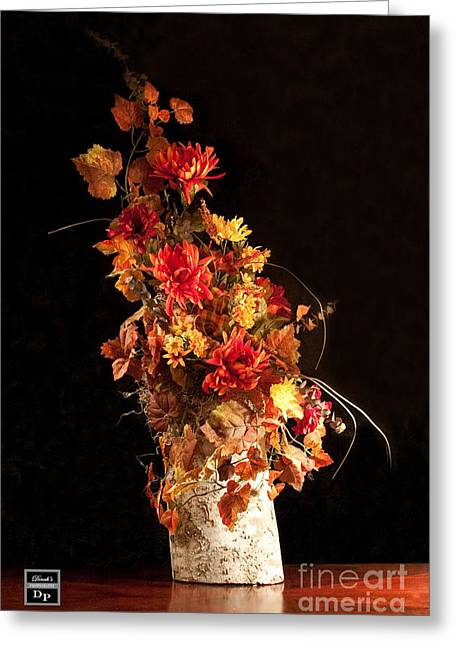 Nature In Autumn I Greeting Card by Dinah Anaya