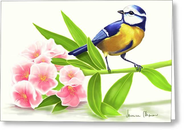 Nature Greeting Card by Veronica Minozzi