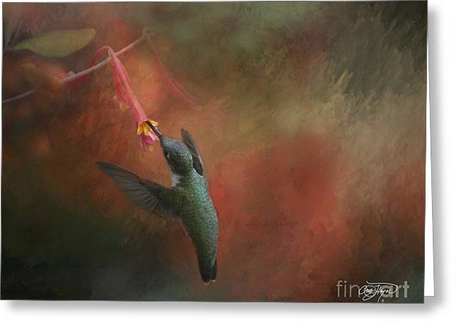 Nature's Angel Greeting Card by Cris Hayes