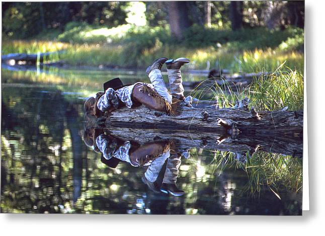 Natures Mirror Greeting Card