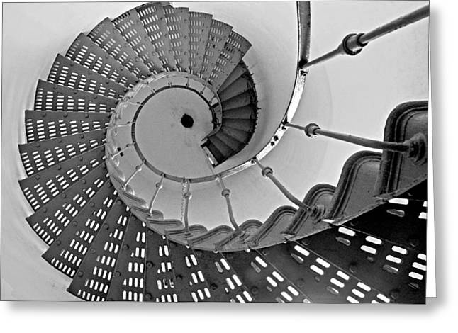 Nautilus Stairs Greeting Card