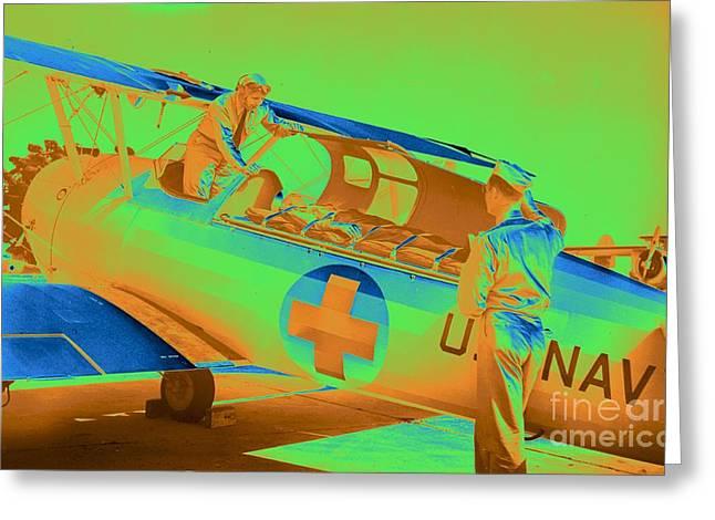 Navy Air Ambulance 1943 Greeting Card