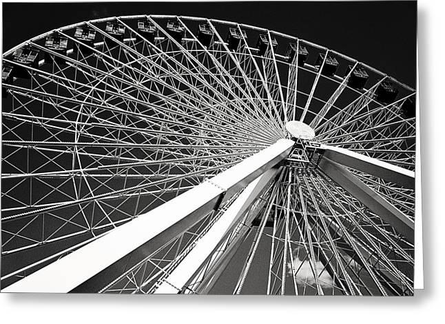 Navy Pier Ferris Wheel Greeting Card