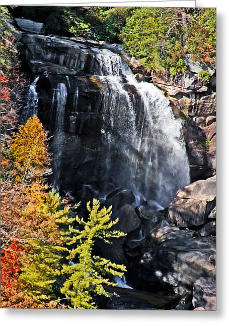 Nc Waterfalls Greeting Card