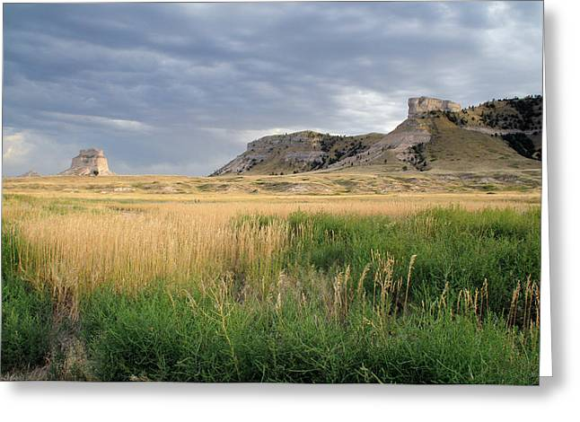 Greeting Card featuring the photograph Nebraska by Geraldine Alexander