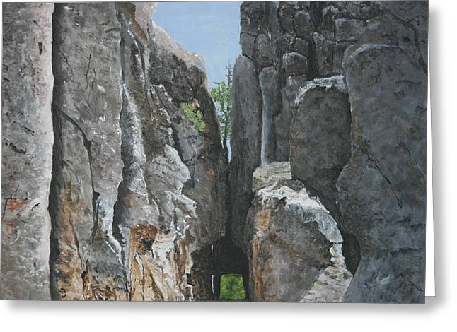 Needles Highway Greeting Card