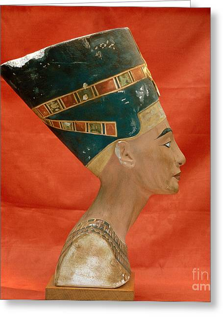 Nefertiti, Ancient Egyptian Queen Greeting Card