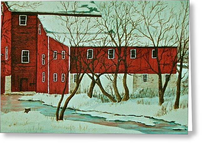 Nelsonville Mill Greeting Card