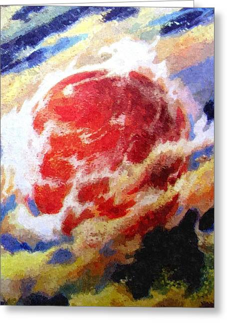 Nemesis Star  Greeting Card by Goldy Parazi