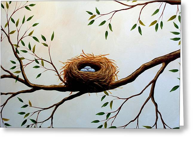 Nesting Greeting Card by Amy Giacomelli