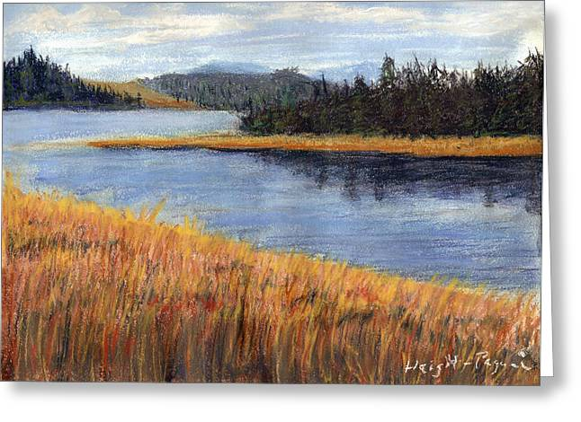 Nestucca River And Bay  Greeting Card