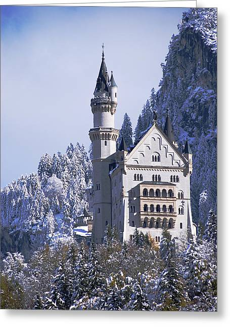Neuschwanstein Castle Greeting Card by Anthony Citro