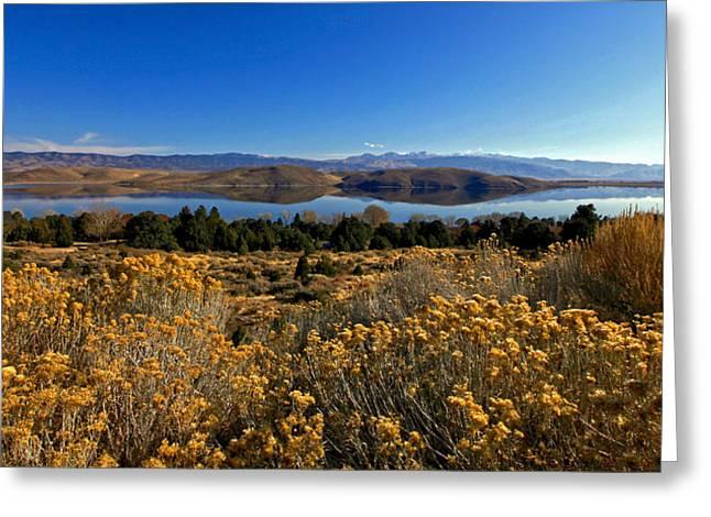 Nevada Lake At Dawn Greeting Card