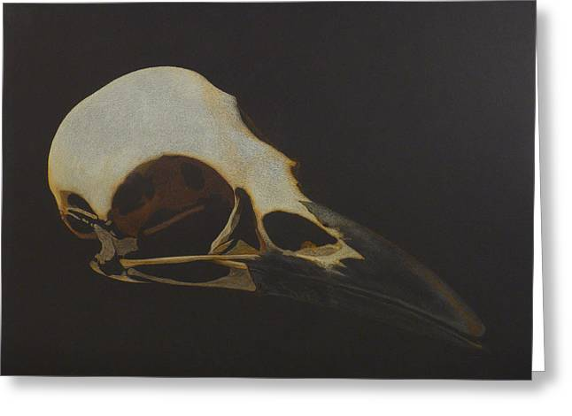 Nevermore Greeting Card by Norm Holmberg