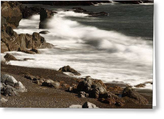 Greeting Card featuring the photograph New England Seashore 2 by Raymond Earley