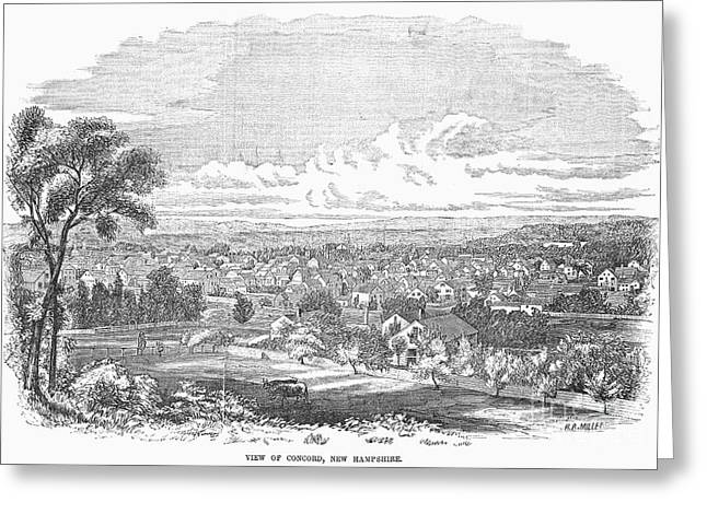 New Hampshire: Concord Greeting Card