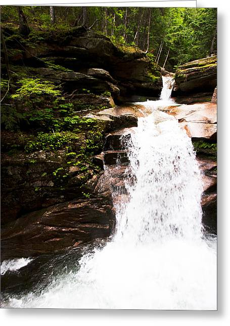 New Hampshire Waterfall Greeting Card