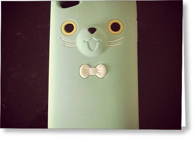 #new #iphone #case #4s #iphonesia #cute Greeting Card