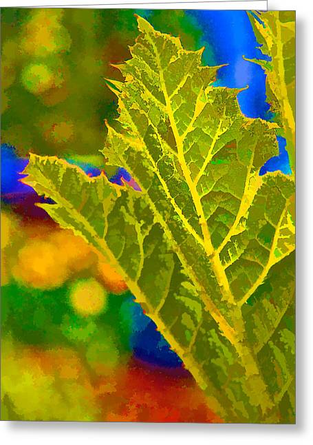 New Life Greeting Card by Ken Stanback