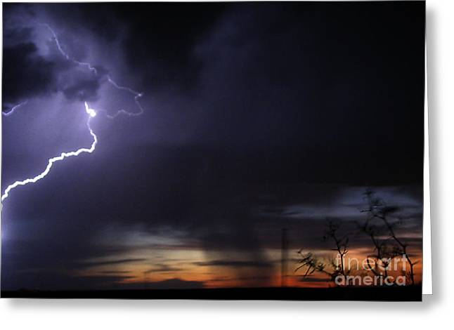 New Mexico Blast Greeting Card