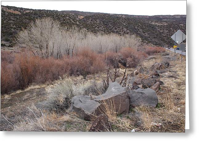 New Mexico Lanscape Greeting Card