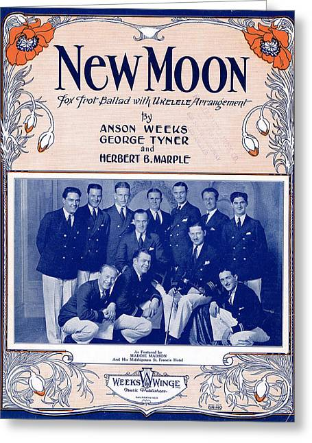 New Moon Greeting Card