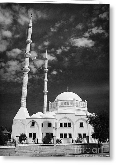 New Mosque Yeni Cami Famagusta Turkish Republic Of Northern Cyprus Trnc Greeting Card by Joe Fox