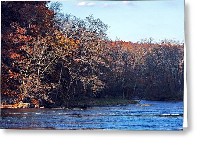 New River At Foster Falls Greeting Card