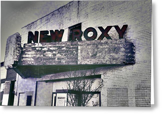Greeting Card featuring the photograph New Roxy Clarksdale Ms by Lizi Beard-Ward