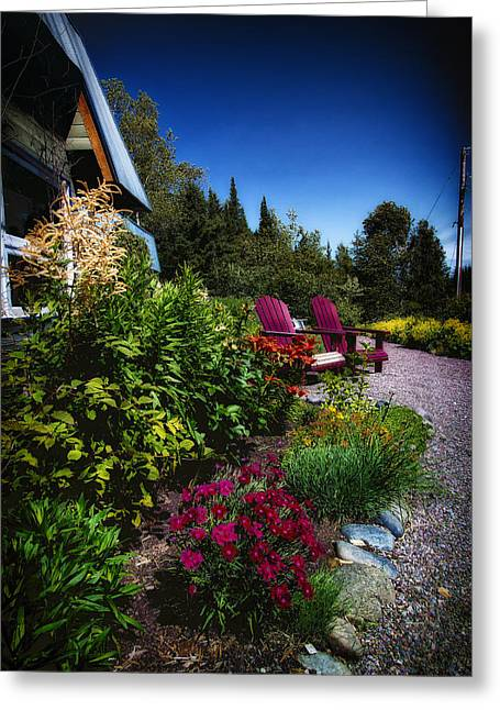 New Scenic Cafe - Duluth Mn Greeting Card by Bill Tiepelman